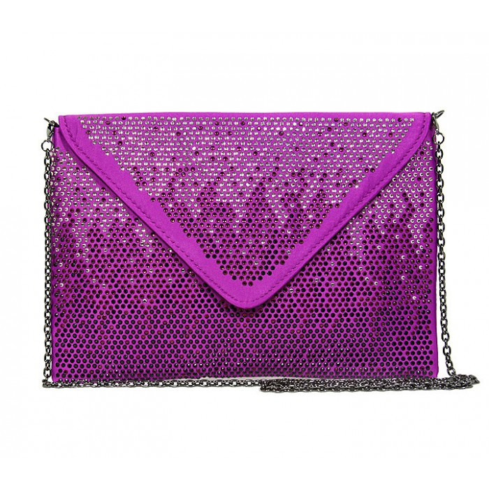 Details about  /Black Shiny Evening Bag w Gold Color Accents /& Purple Lining Approx 7 in tall